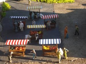 feira no mini mundo